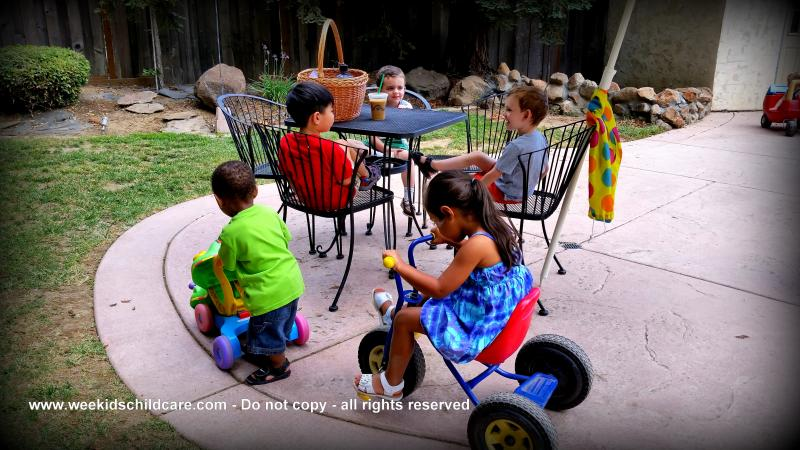 Kids Playing Together